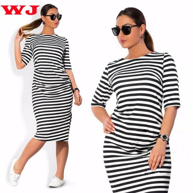WJ лето/осень больших размеров пикантные женские дамы платье Bodycon Тонкий Половина рукава бинты Платья Вечеринка Vestidos