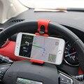Soporte de montaje del Clip del volante del coche Universal de YeeSite 8 7 para iPhone 7 Plus 6 6 s Samsung Xiaomi Huawei teléfono móvil GPS