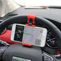YeeSite Universal Car Steering Wheel Clip Mount Holder for iPhone 8 7 7Plus 6 6s Samsung Xiaomi Huawei Mobile Phone GPS