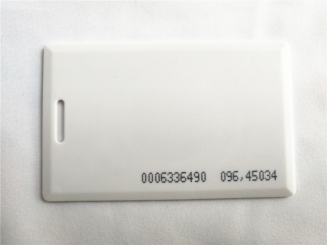 125KHz EM4100 RFID Proximity ID Card 1.8mm for Entry Access Control turck proximity switch bi2 g12sk an6x