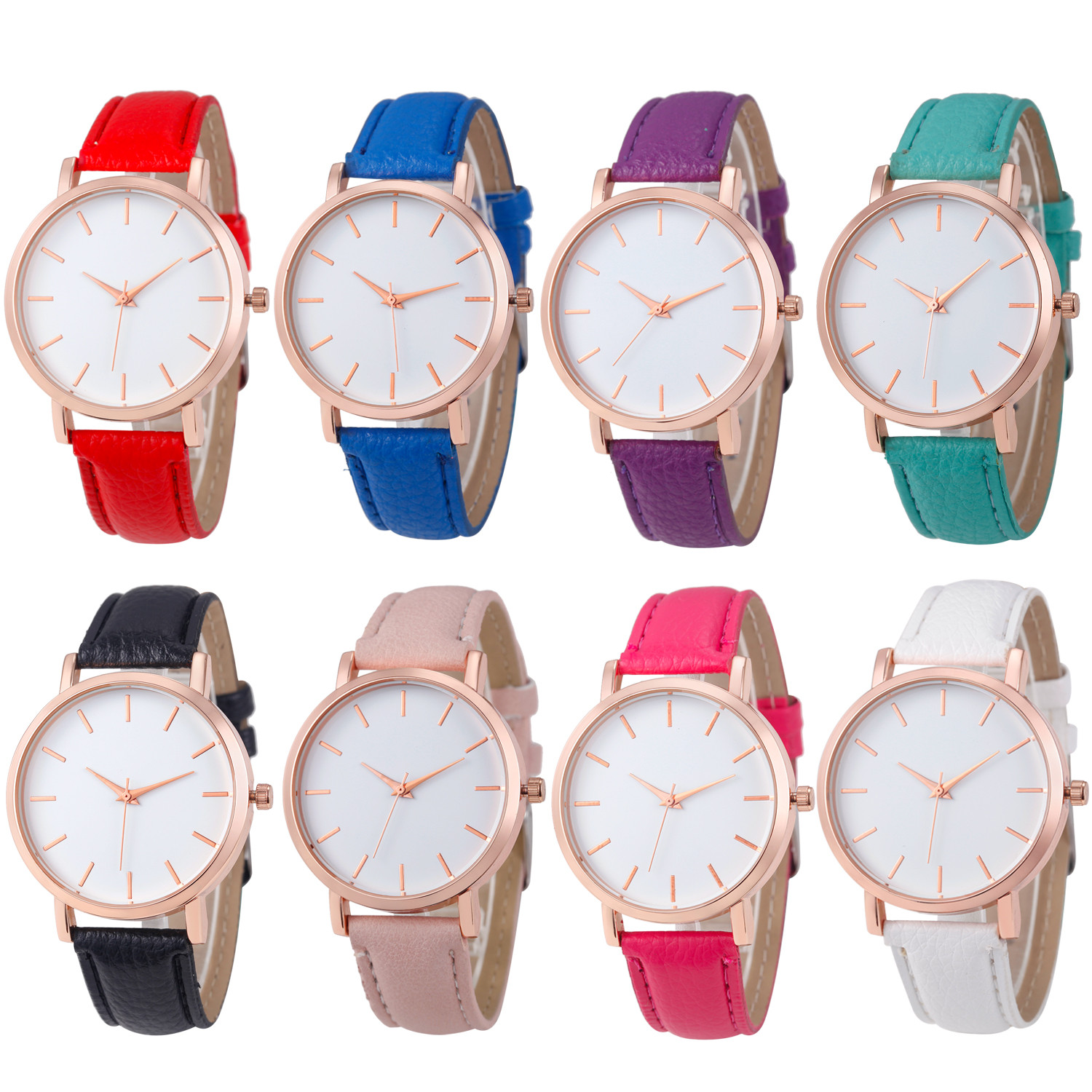 Fashion Lady Watch with Leather Strap