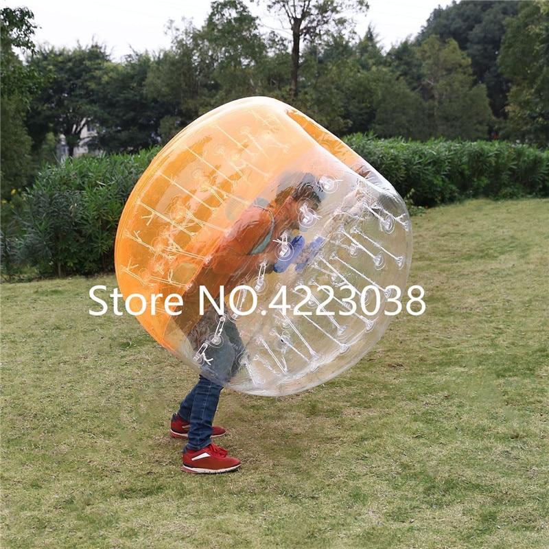 1,5 м надувной футбольный мяч в виде пузыря бампер шар-Зорб пузырь футбол человеческий батут Bubbleball Zorb мяч