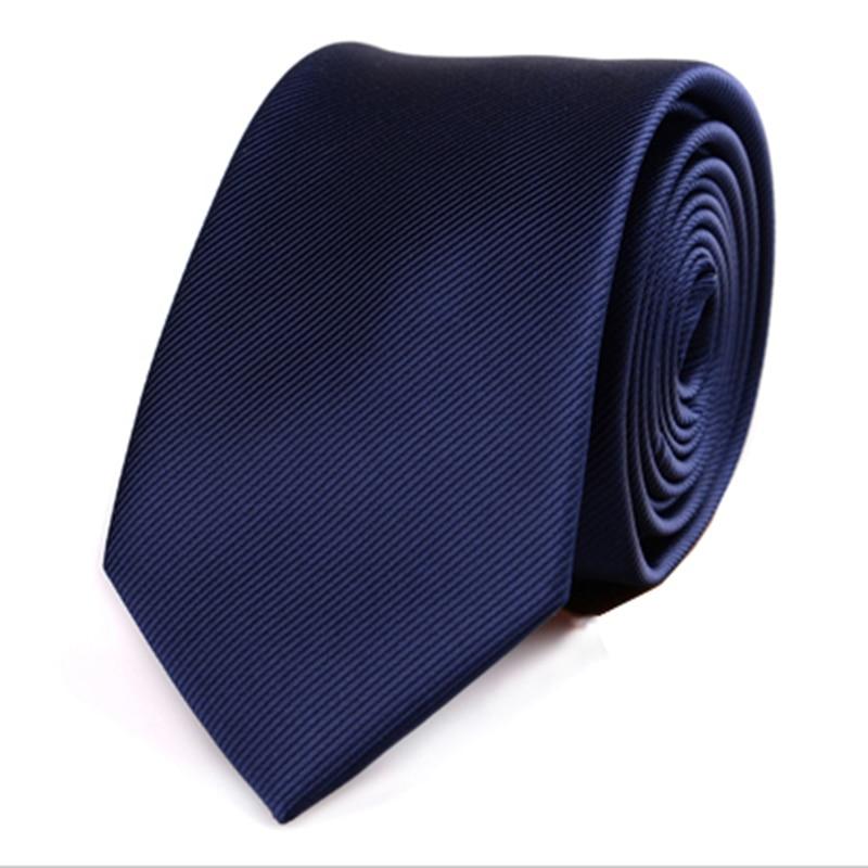 JEMEGINS Corbata Flaca De Poliéster Corbatas Simples Para Hombres - Accesorios para la ropa - foto 5