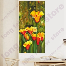 цены DIY Number Painting Coloring by Numbers Calla Lily Flowers Home Decorations Paint By Numbers Office Wall Decor Christmas Gift