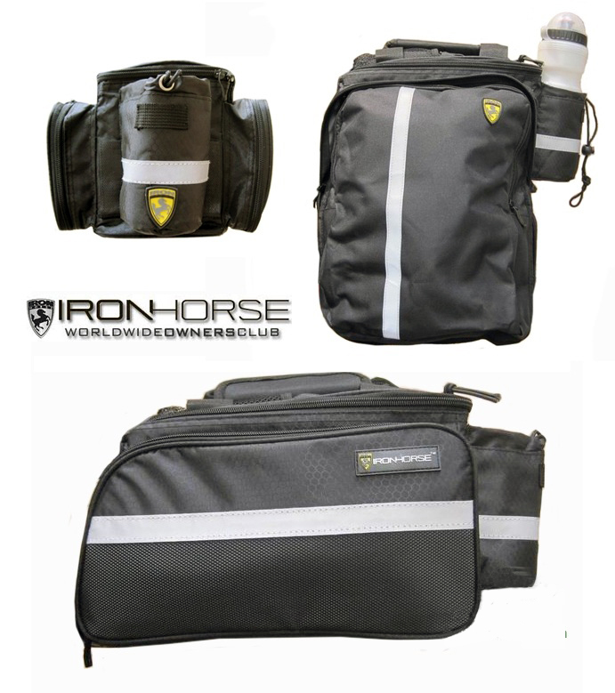 Ironhorse Cycling Bike Bicycle Rear Rack <font><b>Seat</b></font> Pannier Bag pounch rainproof <font><b>Rain</b></font> Cover