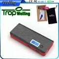 Poveda Tropweiling 18650 caja de banco de la energía 10000 mah banco móvil cargador de teléfono portátil cargador de batería para los teléfonos