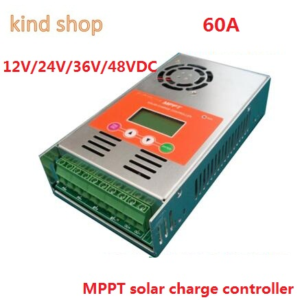 mppt Solar Charge Controller 30A 40A 50A 60A 12V 24V 36V 48V auto switch LCD display 60A MPPT Solar Charge Controller lcd display 60a mppt solar charge controller 12v 24v 36v 48v auto work for solar system 30a 40a 50a