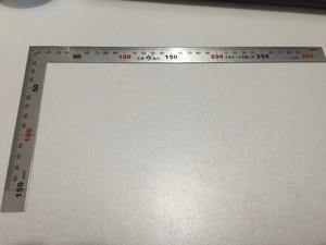 Высокое качество 0-300 мм Угловая линейка l-квадратная нержавеющая сталь Форма линейка металлический квадратный измерительный инструмент LXM ...