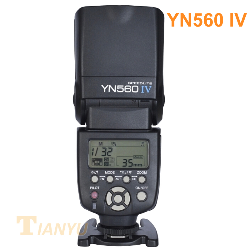 YONGNUO YN560 IV 2.4G Wireless Flash Speedlite with Radio Master Mode for Canon 6D 7D 60D 70D 5D2 5D3 700D 650D,YN-560 IV 560IV yongnuo yn600ex rt ii 2 4g wireless hss 1 8000s master ttl flash speedlite or yn e3 rt controller for canon 5d3 5d2 7d 6d 70d