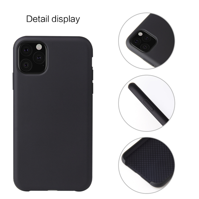Jolie Liquid Silicone Case for iPhone 11/11 Pro/11 Pro Max 2