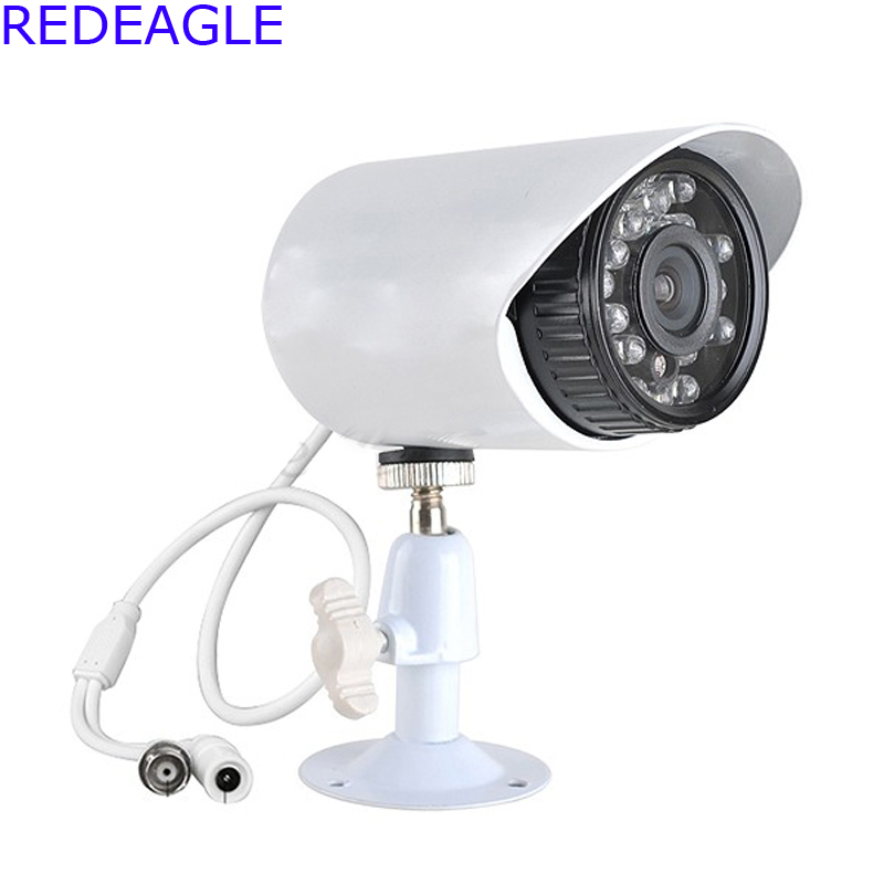 REDEAGLE 1080P 720P AHD Security Camera 2MP 3.6mm HD Lens 24pcs IR Night Vision Outdoor Bullet Security Cameras For AHD DVR 3d pen copy pattern 20pcs transparent plastic plate it help to it help it help kids to familiar with using 3d pen