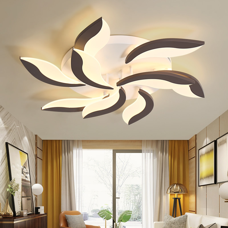 Acrylic LED Ceiling Lights Modern Simplicity Home Decorative Light Fixtures Ceiling Lamp luminaire for Living Room Bedroom in Ceiling Lights from Lights Lighting