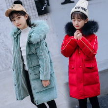 2019 Winter New Warm Girls Thick Down Jackets & Coats for Teenager Girls Kids Down Jacket Children 5-14Y Outerwear Clothes цены онлайн