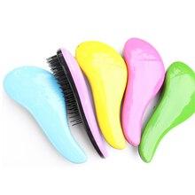Lager size of Magic Salon Hair Styling Tamer Tools Handle Tangle Detangling TT Hair Brush Comb