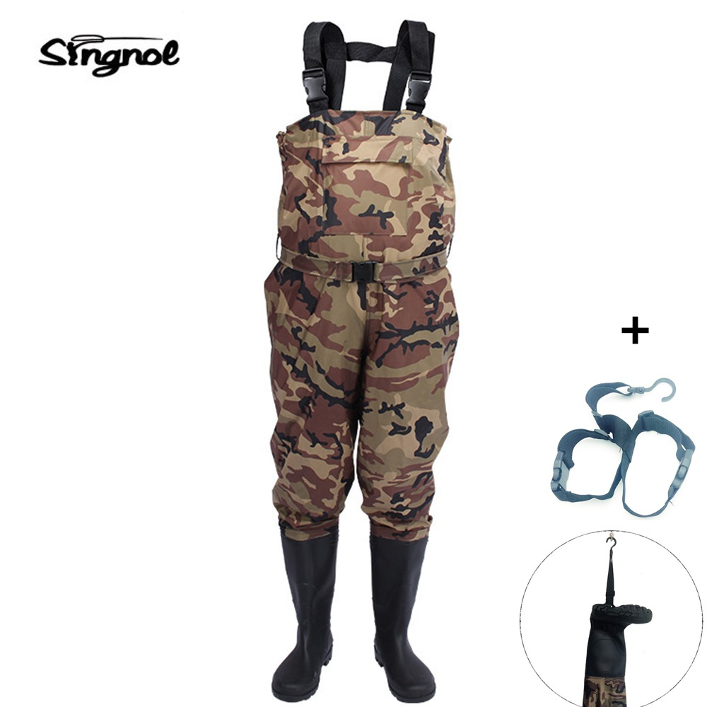 Thicker Waterproof Fishing Boots Pants Breathable Chest Waders Wading Farming Overalls Cleaning Siamese bust Clothes natural farming home