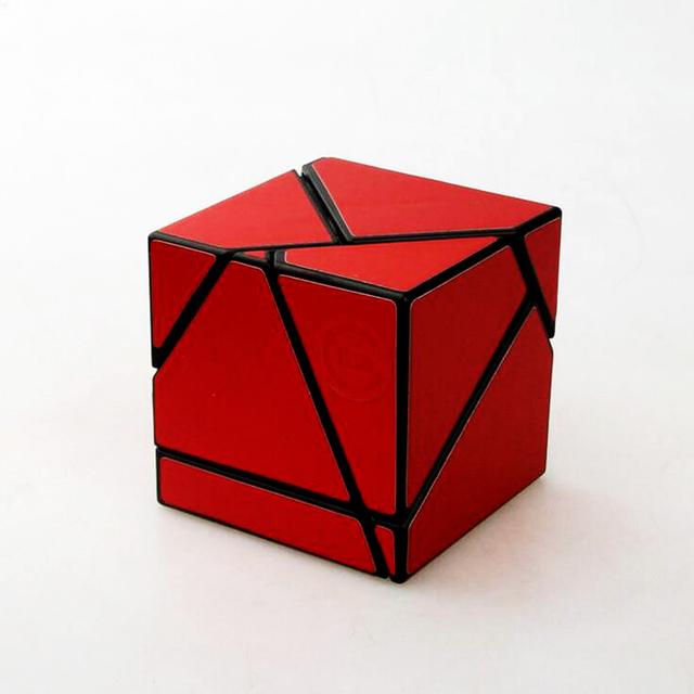 2*2*2 Fantasma Skewb Cubo Mágico Velocidad Cuadrado Rompecabezas Puzzle Cube Juguetes Educativos Para Aliviar El Estrés de Juego para Niños Kids Boy