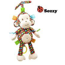 2019 плюшевая детская игрушка sozzy детские погремушки обезьянка