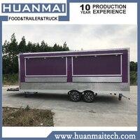 Mobile Food Trailer Food Trucks Food Van 5800x2100x2600mm