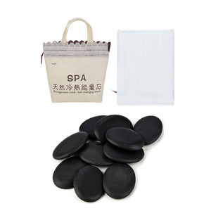 Image 2 - Electric Heating Bag Lava Stone Massager Energy Volcanic Stone Beads Natural Hot Lava Massage Stone SPA Release Physical Tension