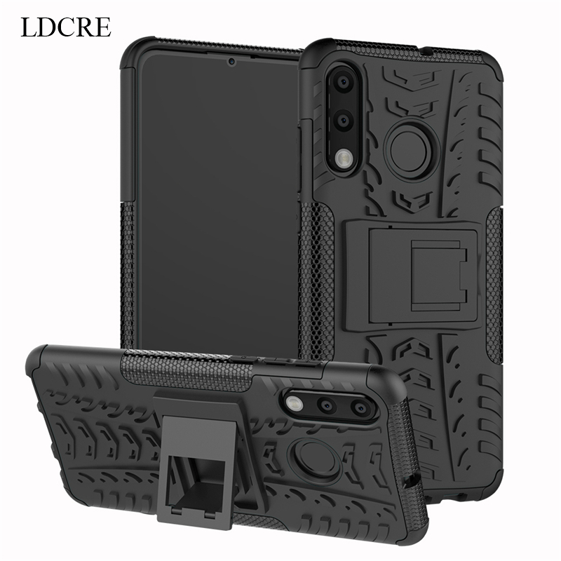 Huawei P30 Lite Case Heavy Duty Hard Rubber Silicone Fundas Phone Case Cover For Huawei P30 Lite Case for Huawei P30 Lite case in Fitted Cases from Cellphones Telecommunications