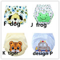 4 pcs/lot 2017 NEW ! Baby Diapers boys/girls training pant / Cotton learning Pantsb1trx0015
