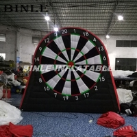High quality exciting 3mH inflatable dart game inflatable soccer darts foot darts with free ball sets for sale