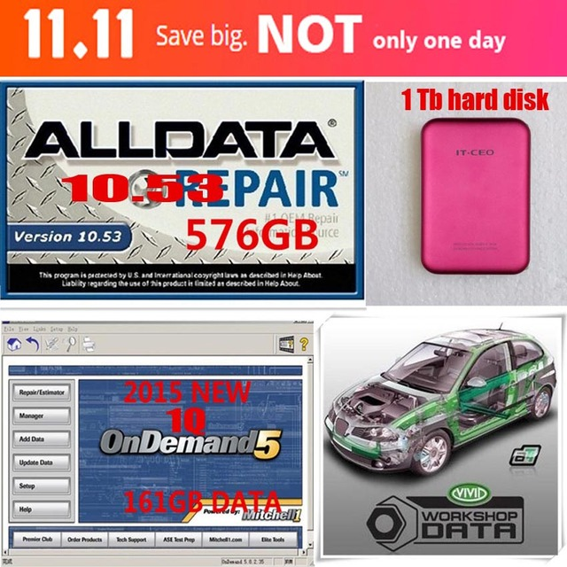 1tb hdd for alldata 10 53 2015 mitchell ondemand 1q vivid rh aliexpress com Mitchell Collision Estimating Manuals Repair Manuals