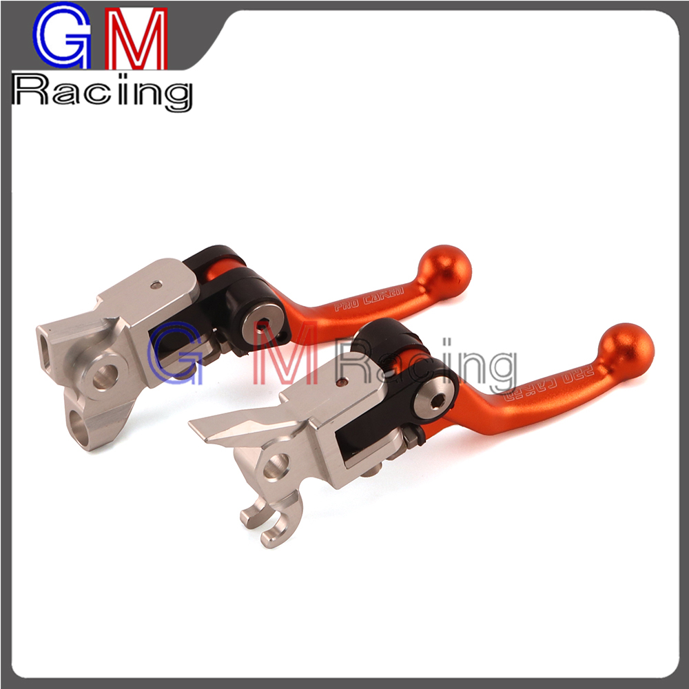 4 Directions Foldable Pivot Clutch Brake Lever For KTM SX EXC XC SXF XCW XCF XCFW