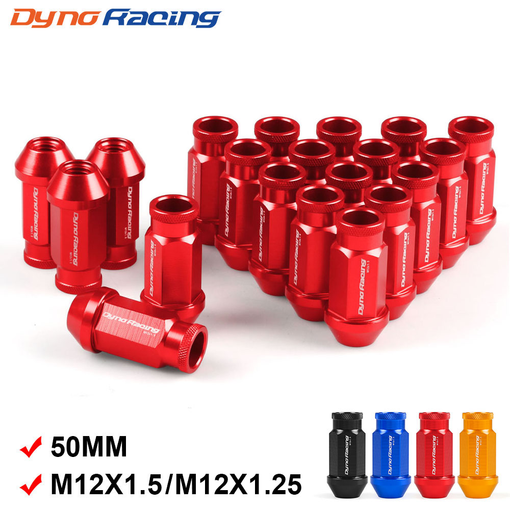 BLUE 20 Pieces D1SPEC Light Weight Billet Racing Wheel Lug Nuts M12x1.5
