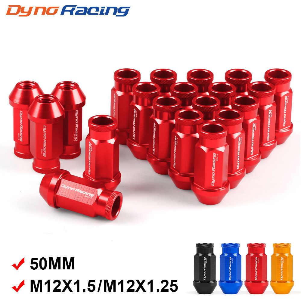 Dado del volante M12X1,25 Argento vite del pneumatico auto Dado del volante in alluminio M12X1,5