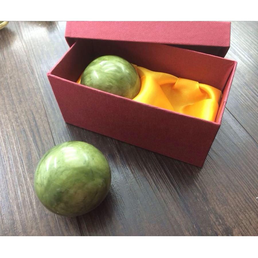 2 τεμάχια Φυσικό Jade Ball Foot Care Tool Μασάζ - Εργαλεία φροντίδας του δέρματος - Φωτογραφία 2