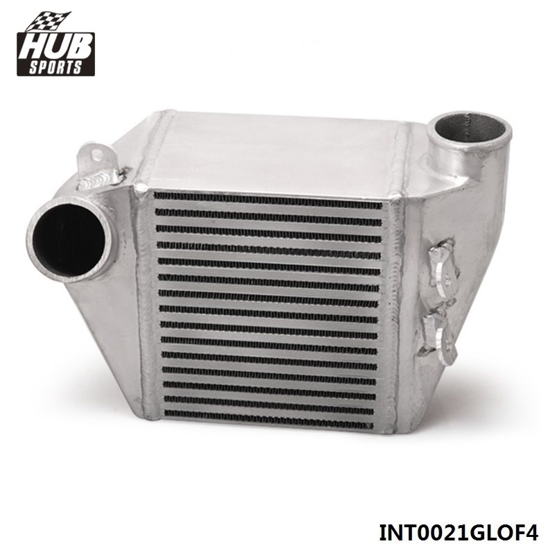 For VW Jetta 18T Engine GOLF BOLT ON ALUMINUM SIDE MOUNT INTERCOOLER TURBO CHARGE HU-INT0021GLOF4