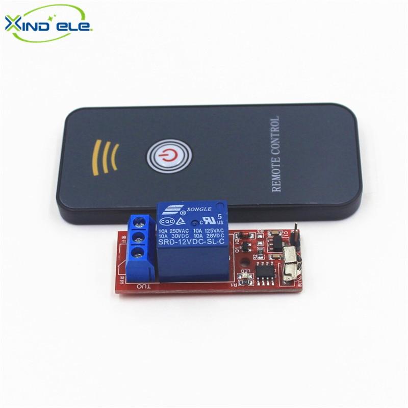 HOT IR Universal Wireless Remote Control Switch DC 12V 1 way