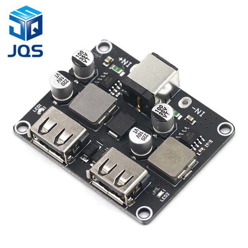 USB QC3.0 QC2.0 DC-DC Buck convertisseur charge abaisseur Module 6-32 V 9 V 12 V 24 V à rapide rapide chargeur Circuit imprimé 3 V 5 V 12 V
