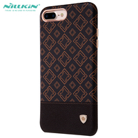 Nillkin Stylish Plaid Patter Leather Case For Iphone 7 Plus 5 5inch Luxury Cell Phone Back