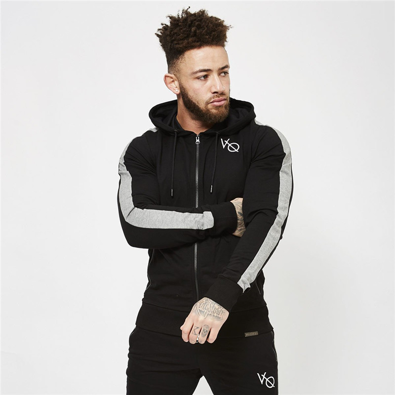 Winter Sport Suits Men Hoodies Sets M-2XL Big Size Mens Gym Sportswear Running Jogging Suit Male Tracksuit