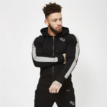 где купить Winter Sport Suits Men Hoodies Sets M-2XL Big Size Mens Gym Sportswear Running Jogging Suit Male Tracksuit по лучшей цене