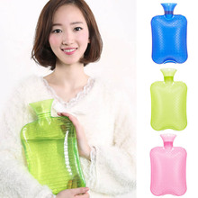 Lovely PVC Hot Water Bottle Bag Thick Warm Relaxing Warming Anti-explosion Heat Therapy @LS ST28