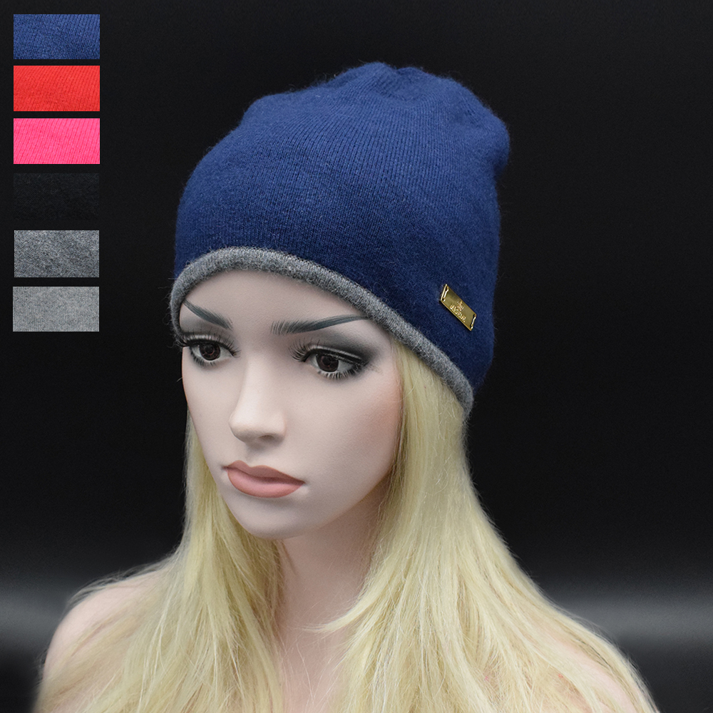 2017 New Solid Wool Winter Hats Adult Women Knitted Warm Hat Female Skullies Beanies high quality Brand Casual Wool Hats цены онлайн