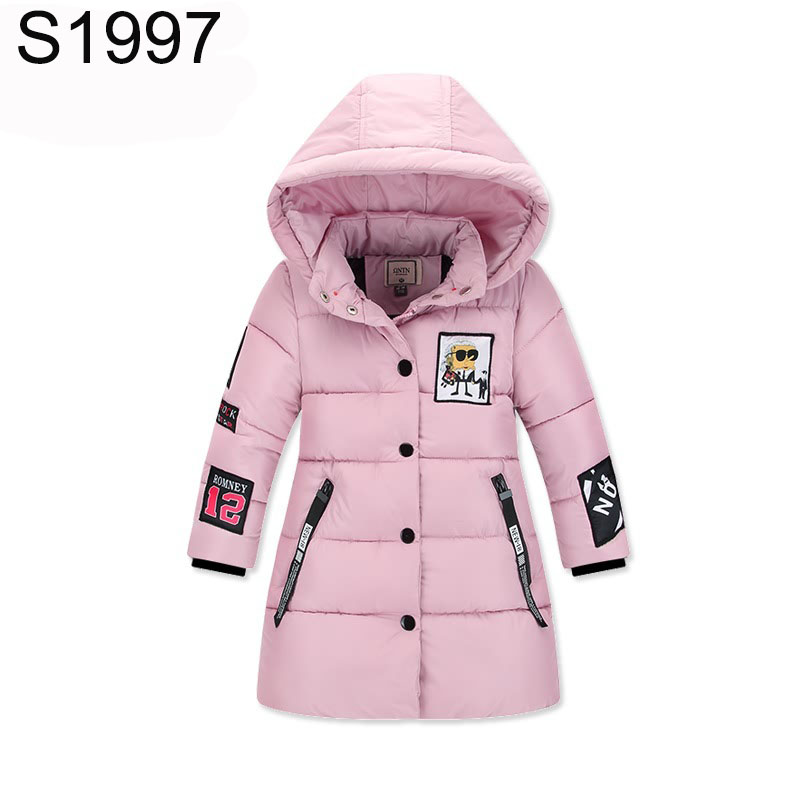 3-8T Kids Winter Coat Detachable Cap Children Baby Outerwear Boys Winter Warm Hooded Clothing Children Clothes Girls Down Coats high quality boys thick down jacket 2017 winter new children warm detachable cap coat clothing kids hooded down outerwear
