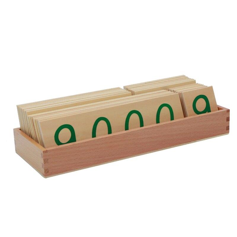 Montessori jouets éducatifs en bois Montessori jouets mathématiques 1-9000 cartes boîte de comptage éducatif Juguetes Brinquedos MG2765H