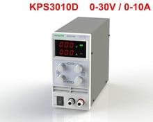 KPS3010D Ajustável de Alta precisão dupla display LED interruptor DC 30V10A função de proteção da fonte de Alimentação 110 V-230 V 0.1 V/0.01A UE