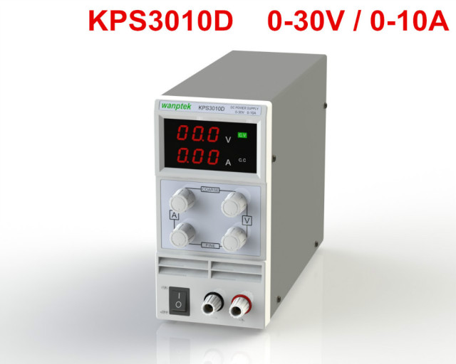 KPS3010D Adjustable High precision double LED display switch DC ...