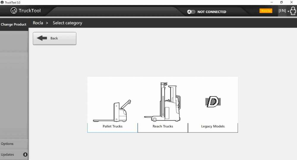 TruckTool 3 2 8 diagnostic program for Mitsubishi , Cat- Rocla - TCM,  UniCarriers ForkLift