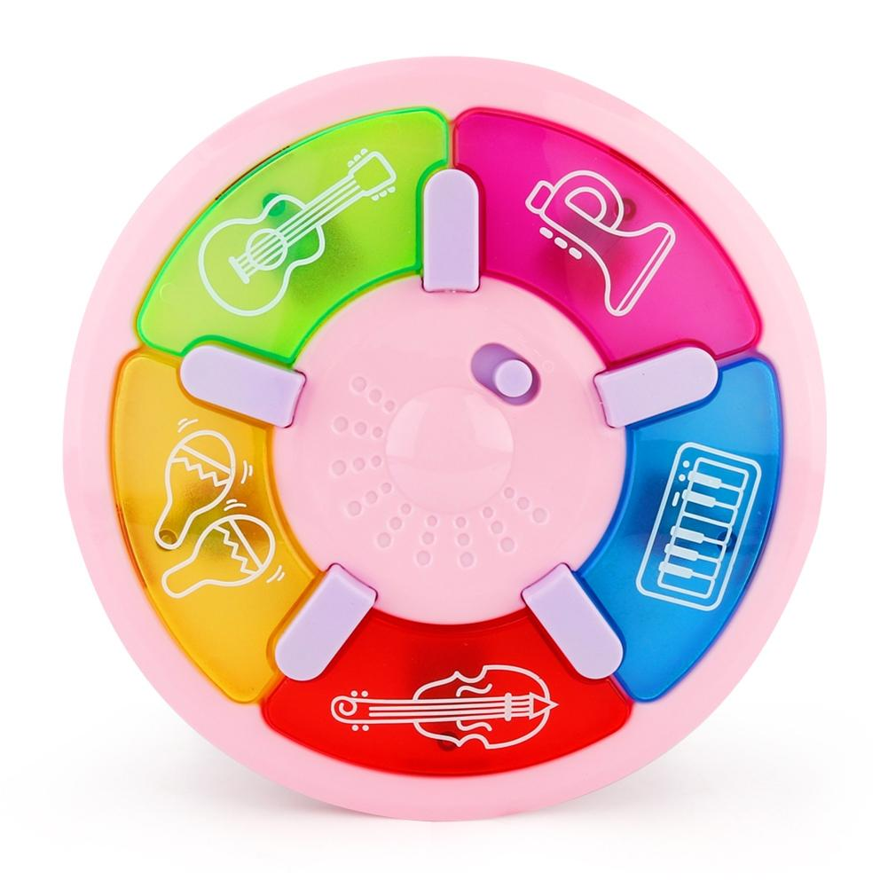 LeadingStar Baby Infant Pat Instrument Music Dashboard With Colorful Lights Toddler Multifunctional Cartoon Educational Toy zk25