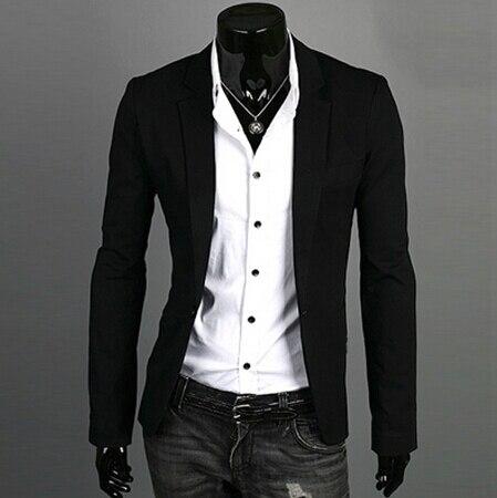 Wild Single Button terno suit Jacket Blazers  3
