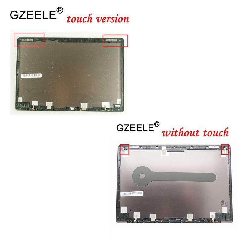 GZEELE Новый ЖК экран Верхняя Крышка для ASUS UX303L UX303 UX303LA UX303LN без/с сенсорным экраном ЖК задняя крышка верхний чехол серый