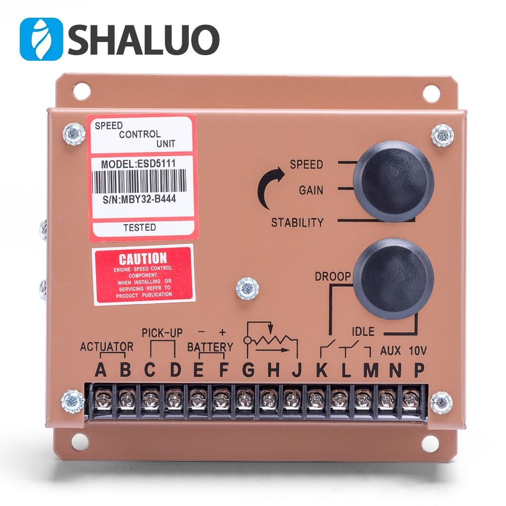 Engine Motor Speed Regulator ESD5111 diesel genset adjustment controller power supply ac generator part 12v 24v