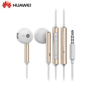 HUAWEI Honor AM116 Earphone Metal With Mic Volume Control For HUAWEI P7 P8 P9 Lite