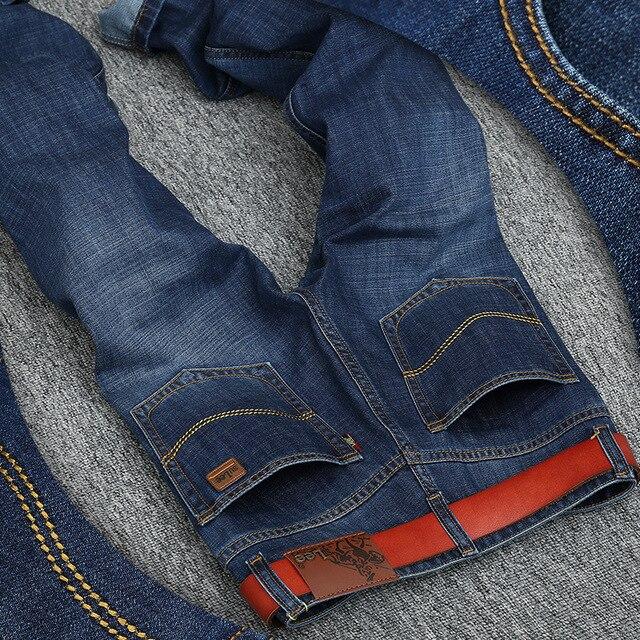 d1c8e186c7 2017 Nueva Llegada Sulee Primavera Jeans Rectos Hombres Classice Denim  Pantalones vaqueros Famosa Marca de Ropa